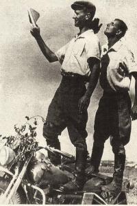 Сергей Рылло (слева) и Борис Герольский
