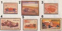 Шесть марок гоночных «Феррари»