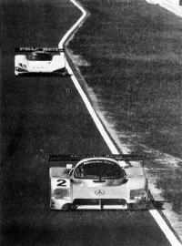 Шумахер за рулем «Мерседес-Бенц-С291»