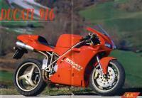 Спортивный мотоцикл Дукати 911