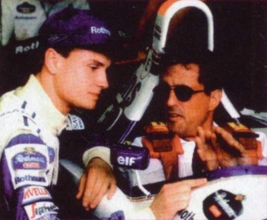 Сталлоне знакомится с миром Формулы 1