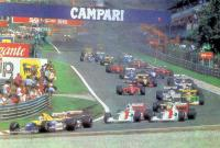 Старт гонки Формулы 1