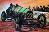 Участник гонки с номером 22