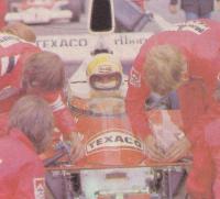 В болиде Формулы 1