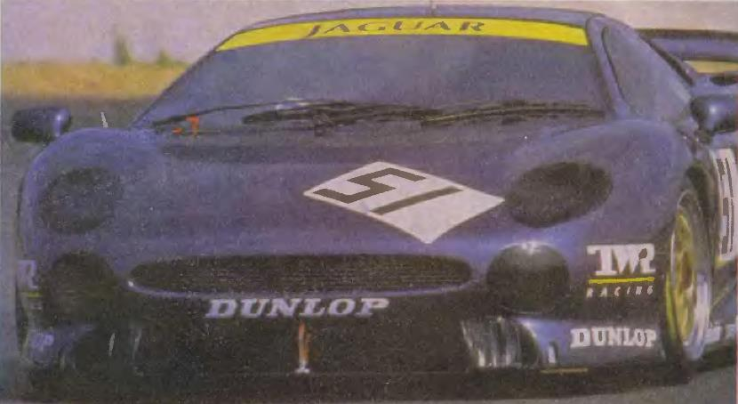 Ягуар выступает при поддержке Dunlop
