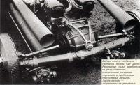 Задние колеса соединены трубчатой балкой «Де Дион»